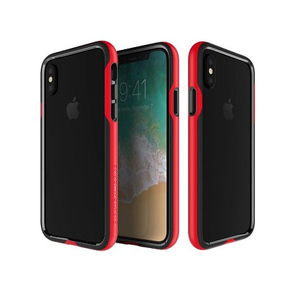 Patchworks iPhone X LEVEL Silhouette, Red