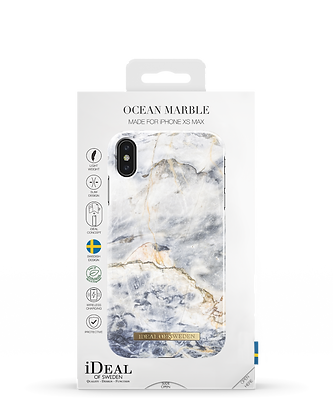 iDeal Of Sweden Fashion Case iPhone Xs Max,  Ocean Marble