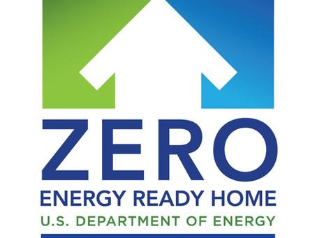 Griffy Creek Studio LLC now an official U. S. Department of Energy Zero Energy Ready Homes Partner