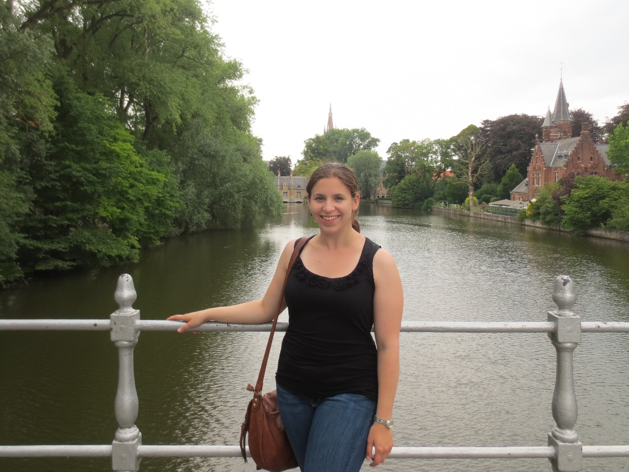 Jennifer Wright in Bruges