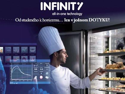 Infinity, šoker ktorý varí za Vás!