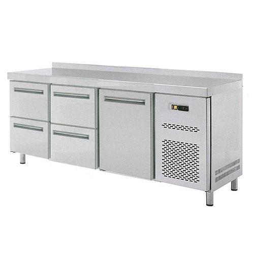 Stôl chladiaci, 1 x dvere, 4 x zás., RT-3D-1D4Z