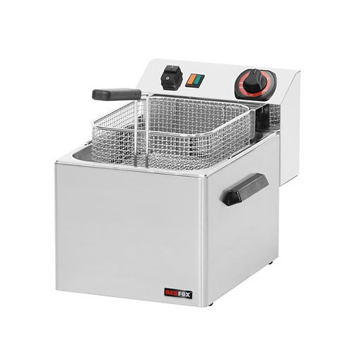 Fritéza stolová FE-07T, 8 litrová, 400V
