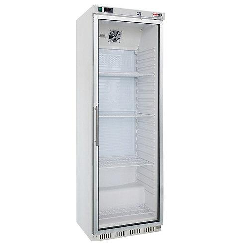 Chladiaca skriňa presklená HR-400G biela