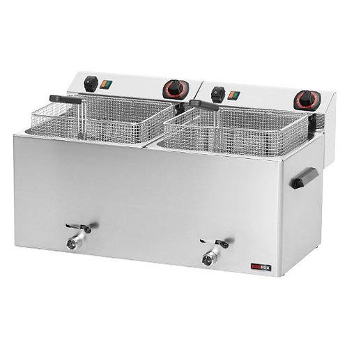 Fritéza stolová FE-1010T, 2x11 litrov, 400V