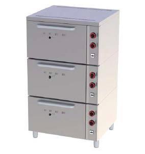 Elektrická trojtrúbová pec EPP-03