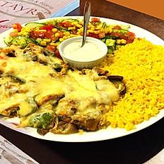 4. Pork Tikka Kadai Cheese