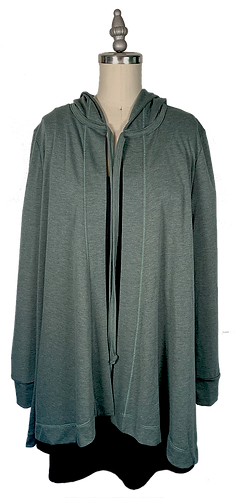 Grass Green Cape Hoodie 1.0 (No Pockets)