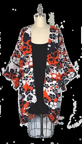 Retro Hawaii Kimono Robe