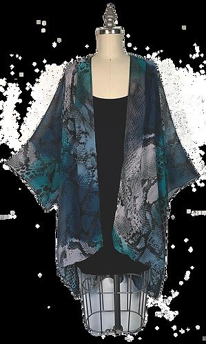Snake Skin Kimono Robe