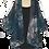 Thumbnail: Snake Skin Kimono Robe