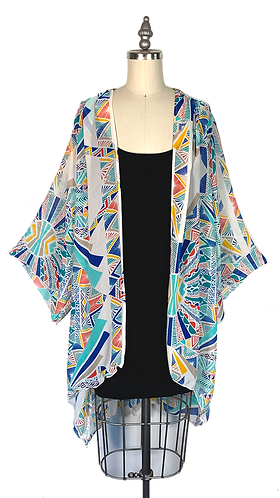Kaleidoscope Kimono Robe