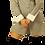 Thumbnail: Grey Pinstripe Dress Shirt Dress