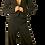Thumbnail: Tuxedo Peplum Tuxedo Jacket