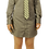 Thumbnail: Grey Pique Dress Shirt Dress