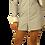 Thumbnail: Navy Pinstripe Dress Shirt Dress