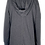 Thumbnail: Charcoal Cape Hoodie 1.0 (no pockets)