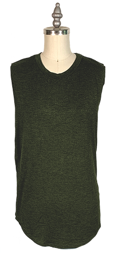 Olive Green Muscle Tee