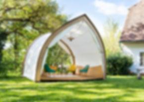 STROHBOIDLounge - Gartenlounge & Partyhaus