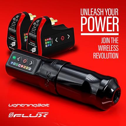 Wireless tattoo machine, Spektra Flux by FK Irons