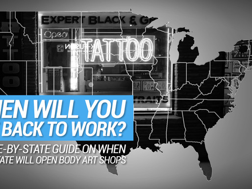 When will you get back to work? A state-by-state guide on when your state will open body art shops