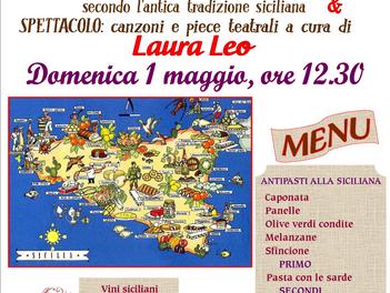 """""""Da Regione in Regione"""": SICILIA BEDDA. Un primo maggio ai sapori di Sicilia: il nuovo """"pranzo-spett"""