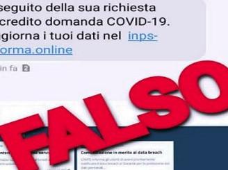 """Sms con falso messaggio Inps, allarme della Polizia postale: """"Ruba i dati"""""""