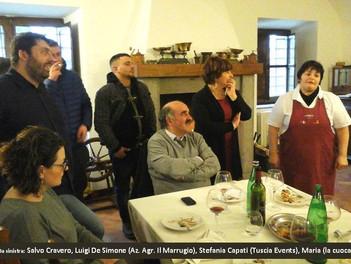 Futuri chef del Gambero Rosso visitano aziende d'eccellenza in Tuscia:  Az. Agr. Il Marrugio, G.A.M.