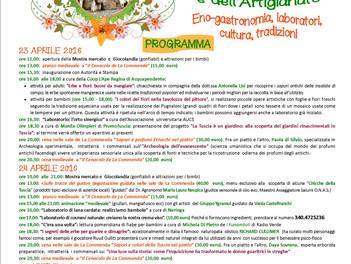 """Montefiascone: XXIII edizione di """"Primavera in Etruria"""". 23 - 24 - 25 aprile, l'Antico Borgo La Comm"""