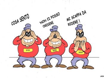 Gli intoccabili: alias, Draghi e i suoi Beagle Boys!