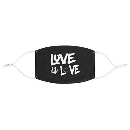 Love is Love™ Face Mask - LOVE + IS