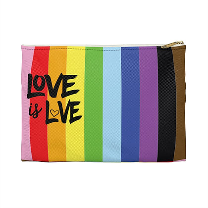 Love is Love™ Rainbow Accessory Pouch