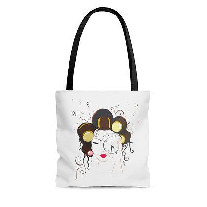 Morning Girl Tote Bag