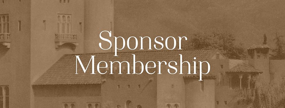 Sponsoring Membership
