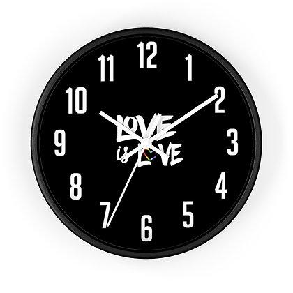 Love is Love™ Wall clock