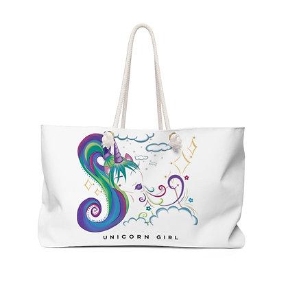 Unicorn Girl Weekender Bag