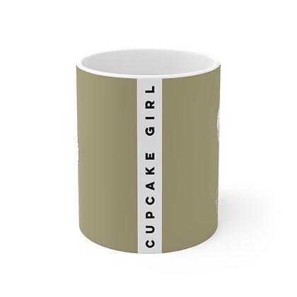 Cupcake Girl Mug 11oz