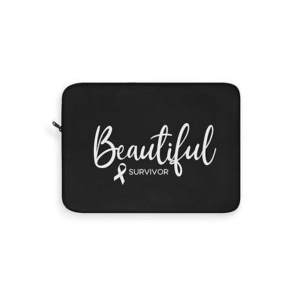 Copy of Beautiful Survivor™ Laptop Sleeve black