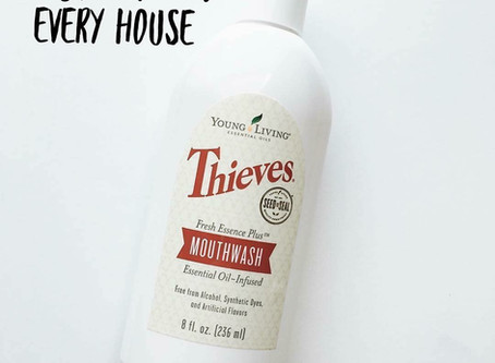 A MUST HAVE! | THIEVES MOUTHWASH