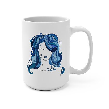 Water Girl Coffee Mug 15oz