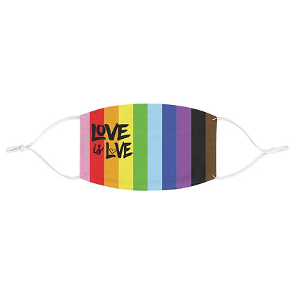 Love is Love™ Rainbow Face Covering