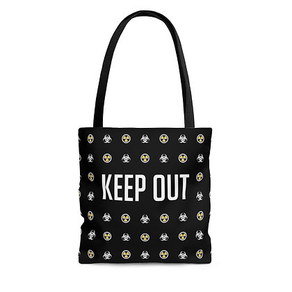 Toxic Girl™ KEEPOUT Tote Bag