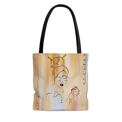 Teacher Girl Tote Bag