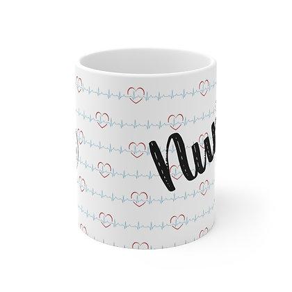 Nurse Girl Coffee Mug 11oz