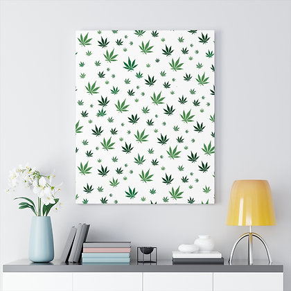 Mary Jane Leaves™ Canvas