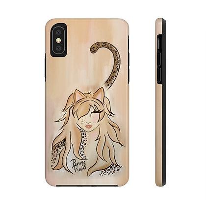 Little Miss Kitty iPhone Case
