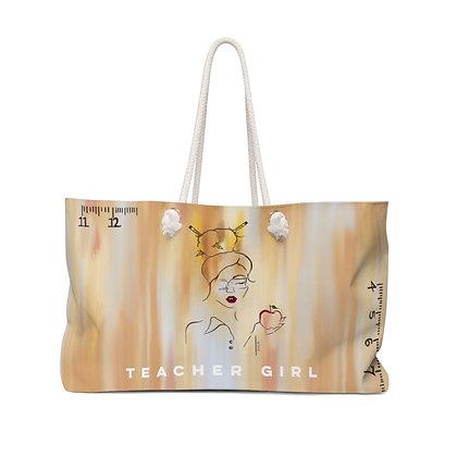 Teacher Girl Weekender Bag