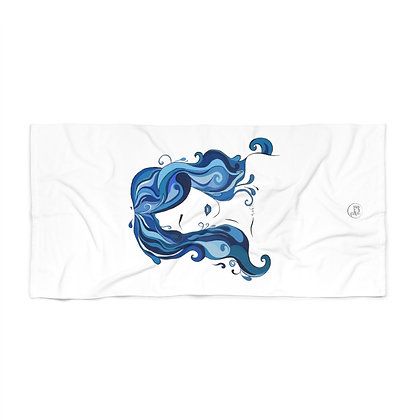 Water Girl Beach Towel