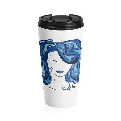 Water Girl Stainless Steel Travel Mug