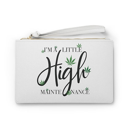 Mary Jane High Maintenance Clutch Bag